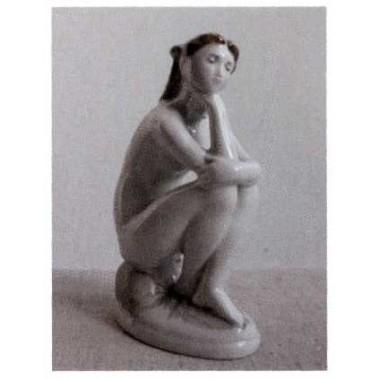 Девушка на пляже, ЛФЗ, 1950-60-е