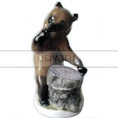 Чернильница Медведь у пня [ЛФЗ]