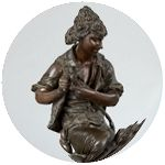 Скульптура, Статуэтки, Бюсты