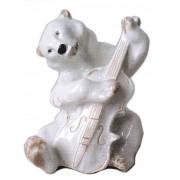 Медведь с контрабасом 15 см (ЛФЗ)